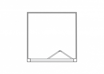 Shower Cubicle - RECTANGUALR Thicker-01