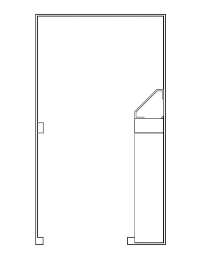 long bathroom pad draft