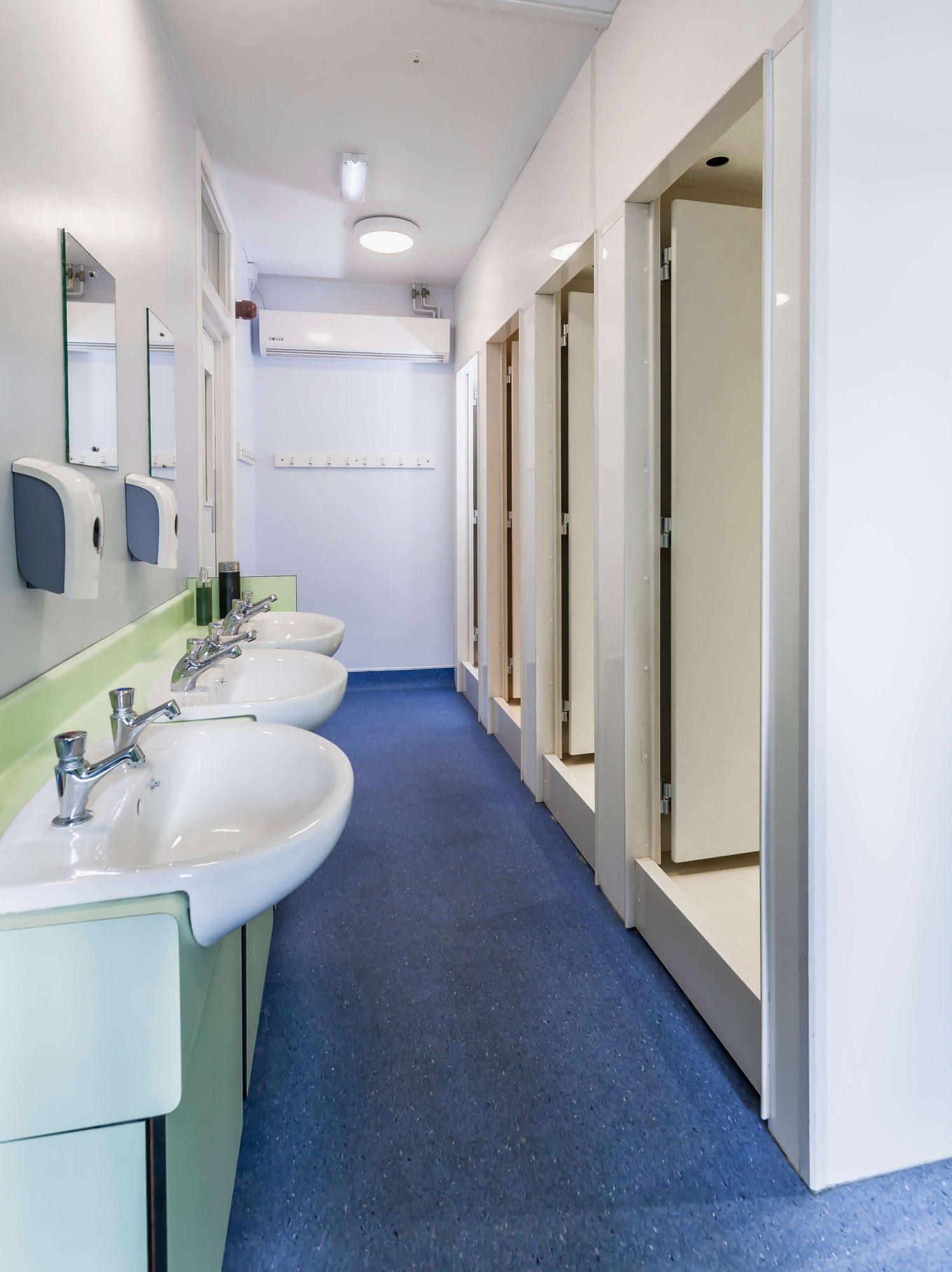 Lancing College_washroom showers