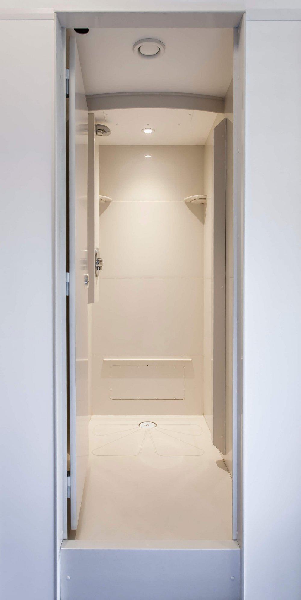 Lancing College_shower pods