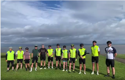 Taplanes Employee takes part in Coast2Coast in memory of former colleague